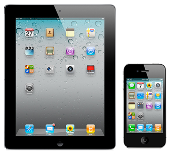 iPad and iPhone devices